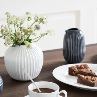 HAMMERSHOI Vase H125 WHITE