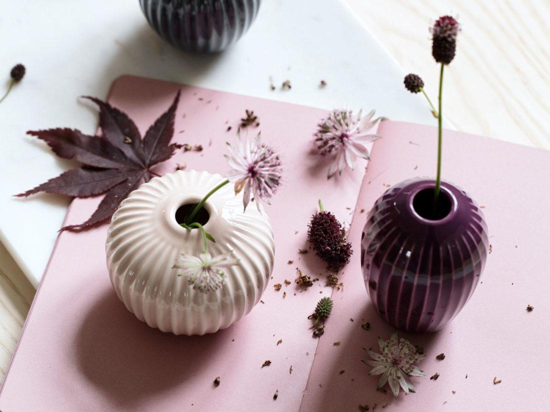 HAMMERSHOI Vase Miniature, Rose