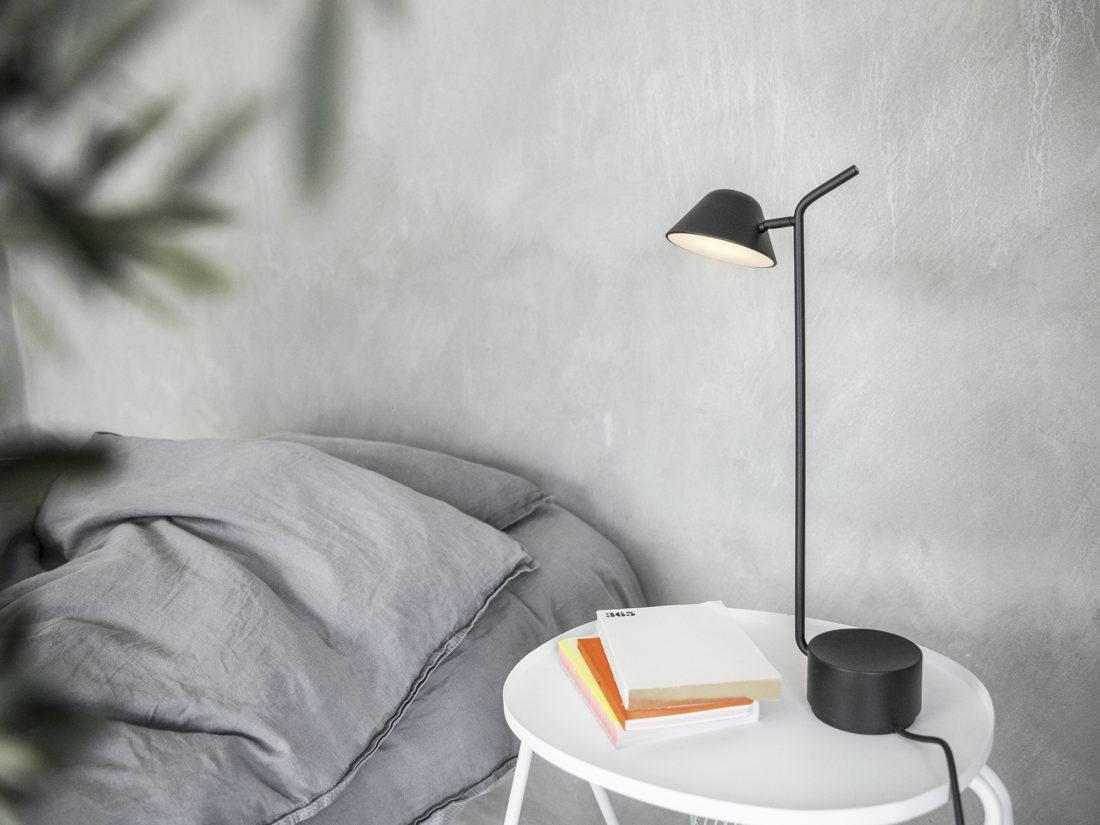 PEEK Table Lamp, Black
