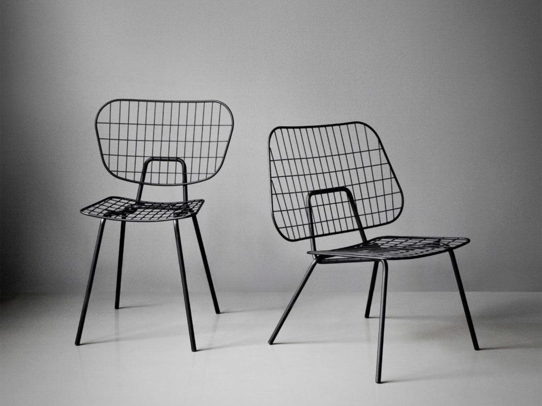 WM STRING Chair, Black