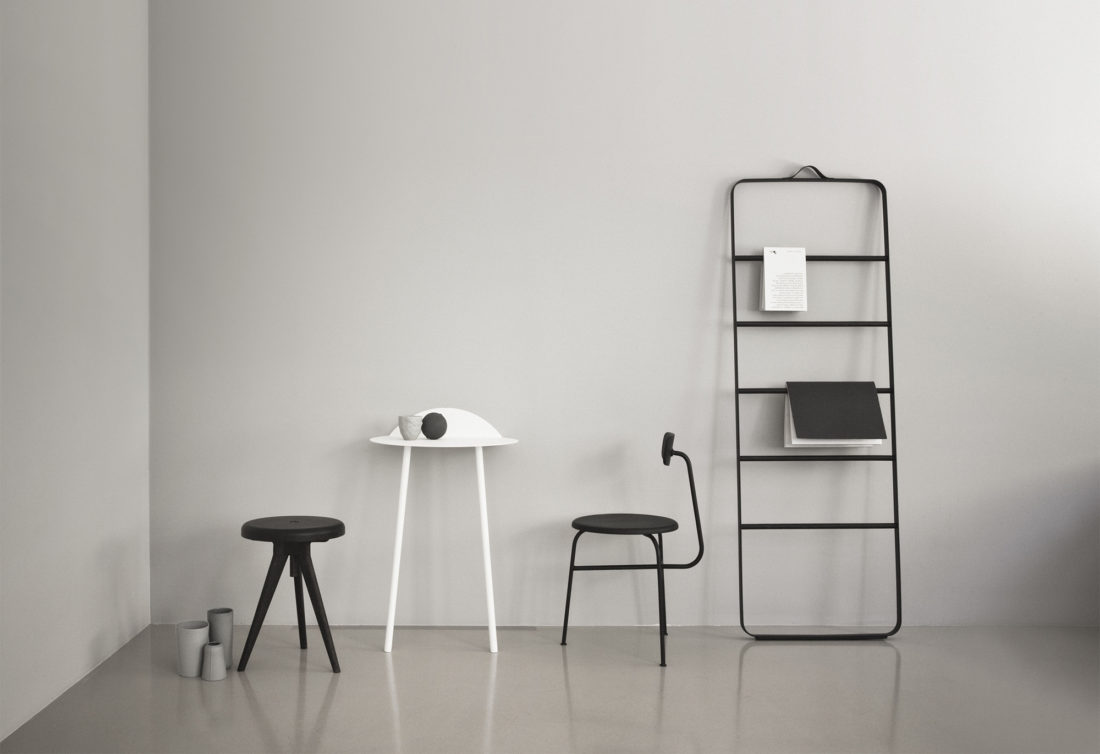 YEH Wall Table Tall, White