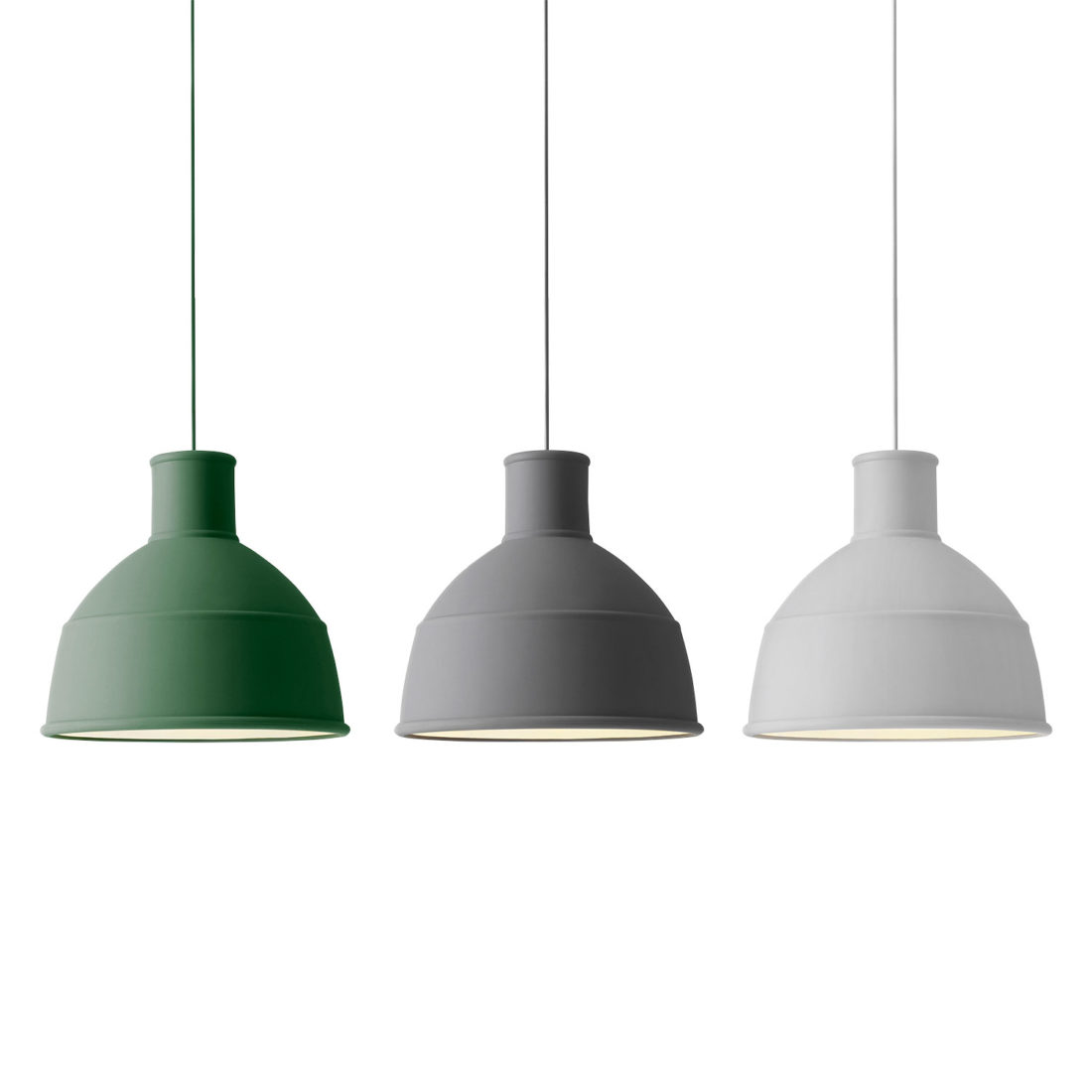 UNFOLD Pendant Lamp, Light Grey