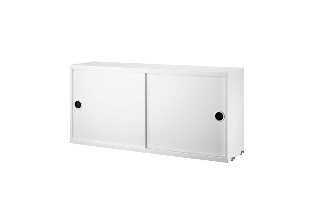 STRING Cabinet with Sliding Doors, D20