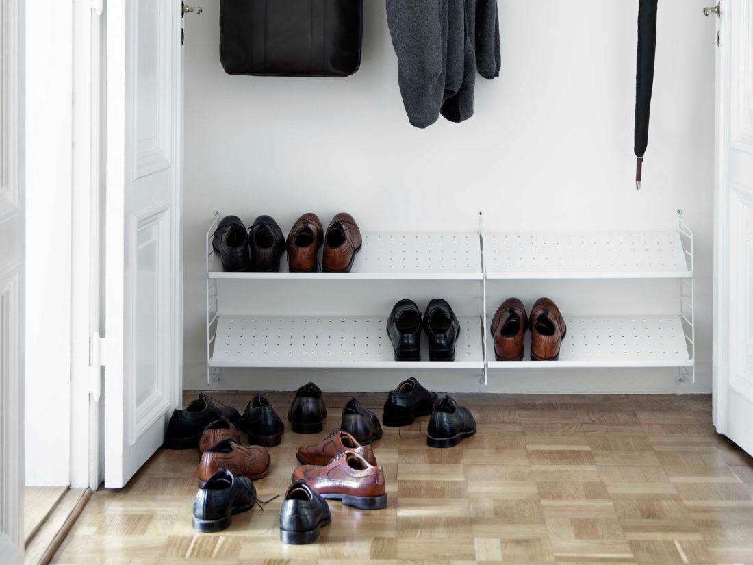 STRING Metal Shoe Shelves, 58x30cm