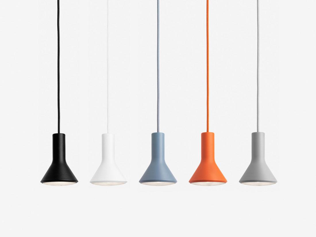 PAR Pendant Lamp, Orange
