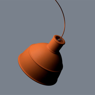 UNFOLD Pendant Lamp, Terracotta
