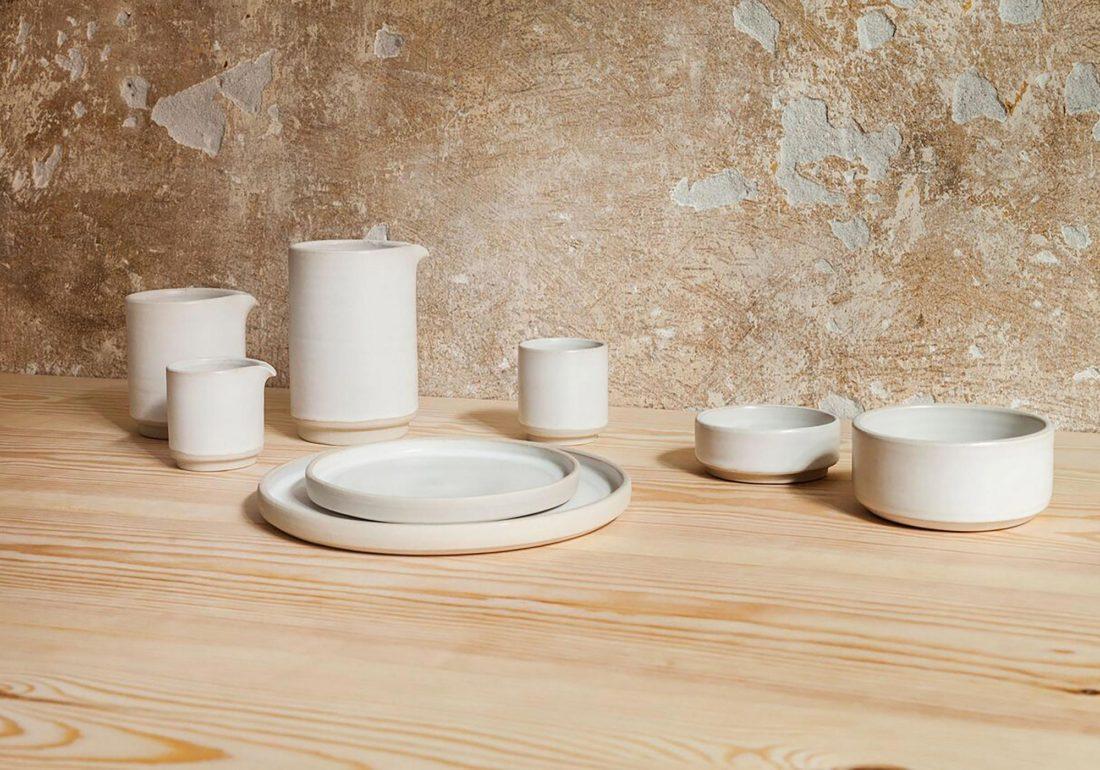 OTTO Plate White (L), Set of 2