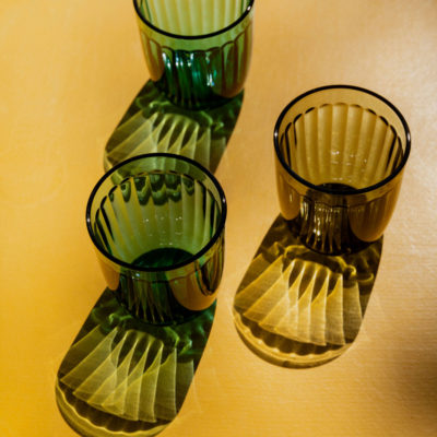 RAAMI Tumbler Set of 2, Moss Green