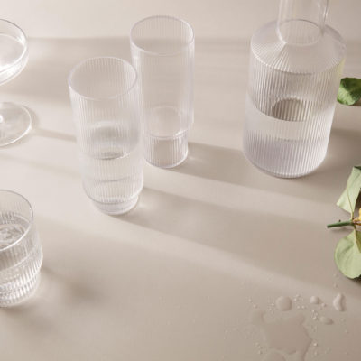 RIPPLE Long Drink Glass, set of 4
