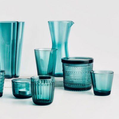 RAAMI Tumbler Set of 2, Sea Blue