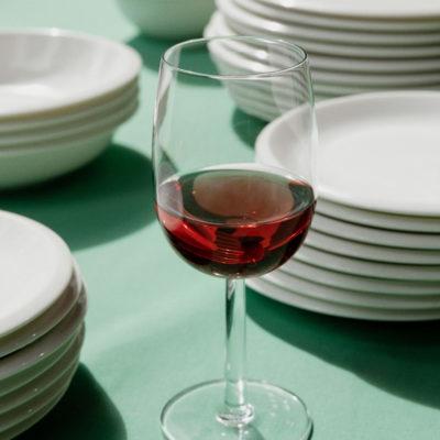RAAMI Red Wine Glass Set of 2