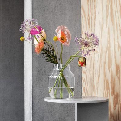 SILENT Vase Large, Grey