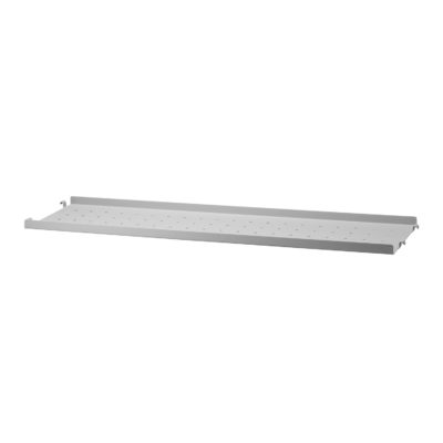 STRING Metal Shelves Low Edge, 78x20cm