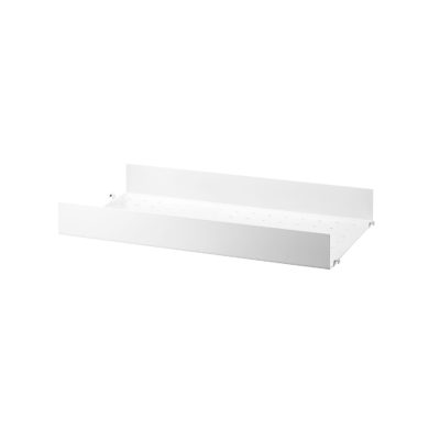 STRING Metal Shelves High Edge, 58x20cm