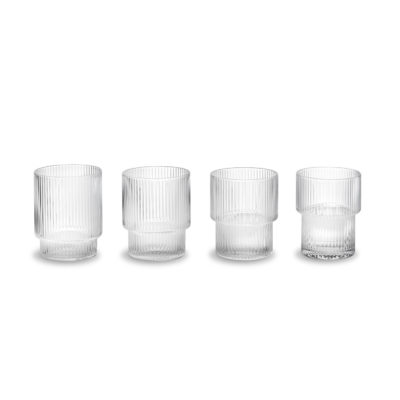 RIPPLE Glass, set of 4