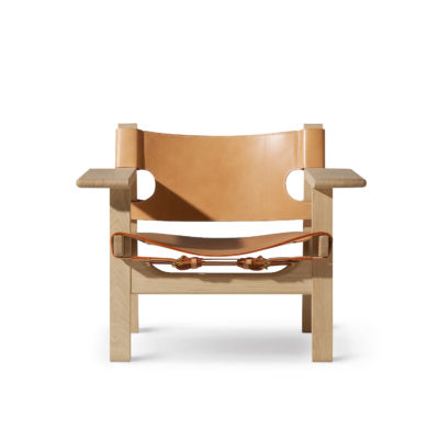 THE SPANISH Chair, Natural Leather