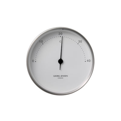 HK THERMOMETER, Steel-White