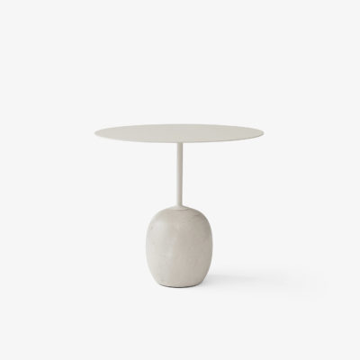 LATO Table LN9, Crema Diva Marble