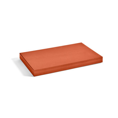 CHOPPING BOARD Rectangular L, Burnt Orange