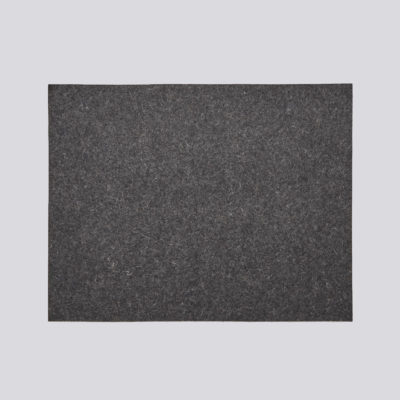FELT Place Mat, Dark Grey