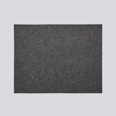 FELT Place Mat, Dark Grey