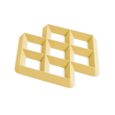 RHOM Trivet, Light Yellow