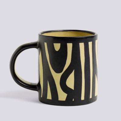 WOOD Mug, Yellow