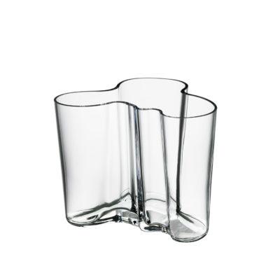 ALVAR AALTO Vase 120mm, Clear