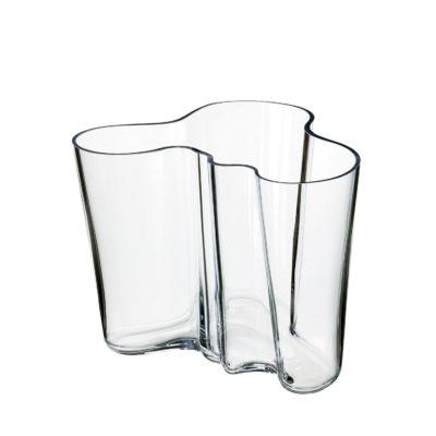 ALVAR AALTO Vase 160mm, Clear