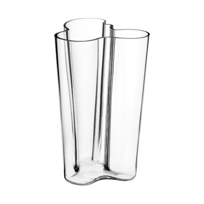 ALVAR AALTO Vase 251mm, Clear