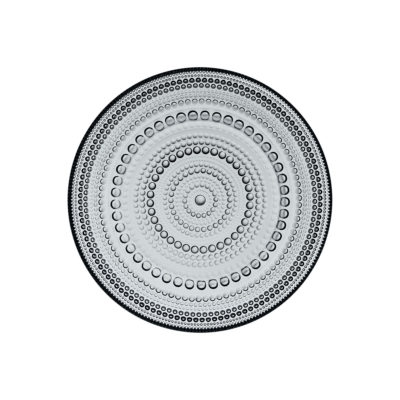 KASTEHELMI Plate, Grey