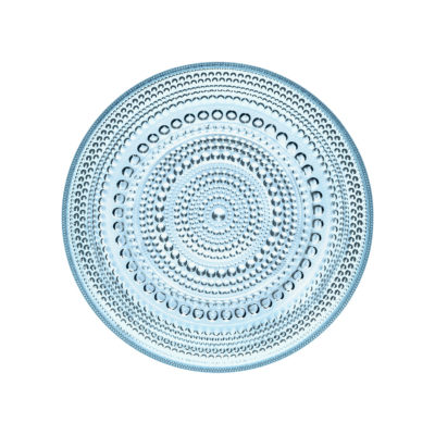 KASTEHELMI Plate, Light Blue