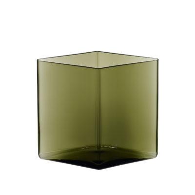 RUUTU Vase 205 x 180, Moss Green