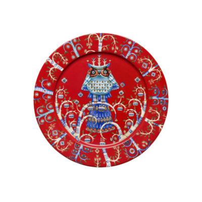 TAIKA Plate 27 cm, Red