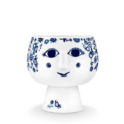 BW JULIANE FLOWERPOT Blue, Medium