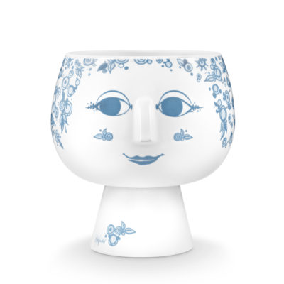 BW JULIANE FLOWERPOT Dusty Blue, Large