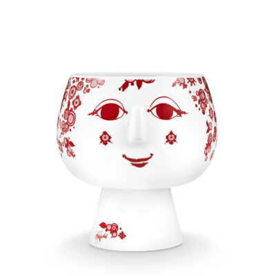 BW JULIANE FLOWERPOT Red, Small