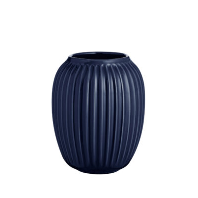 HAMMERSHOI Vase H200 INDIGO BLUE