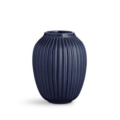 HAMMERSHOI Vase H250 INDIGO BLUE
