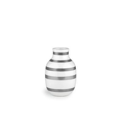 OMAGGIO Vase H125 Silver