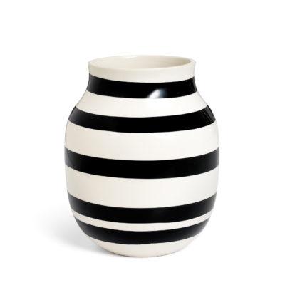 OMAGGIO Vase H200 Black