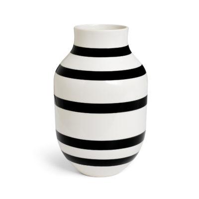 OMAGGIO Vase H305 Black