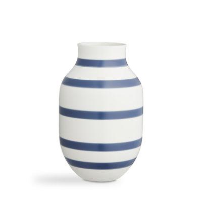 OMAGGIO Vase H305 Steel Blue