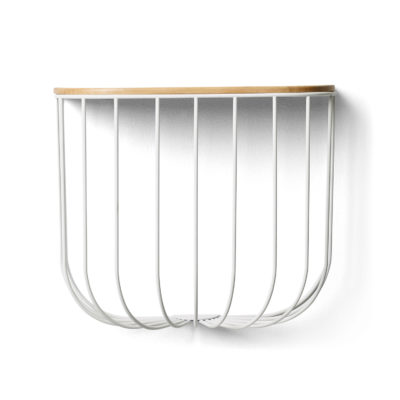 FUWL Cage Shelf, White