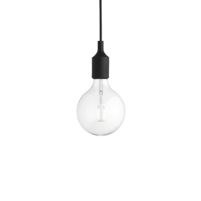 E27 Pendant Lamp, Black