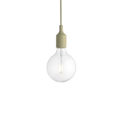 E27 Pendant Lamp, Green Beige