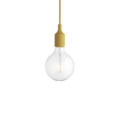 E27 Pendant Lamp, Mustard