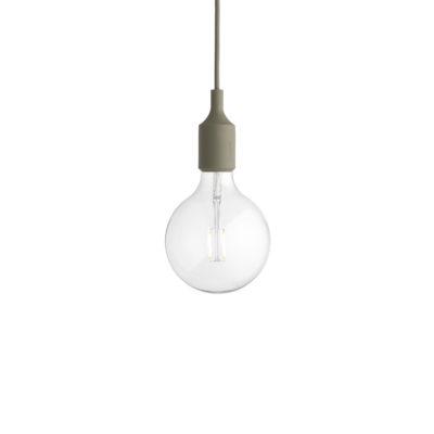 E27 Pendant Lamp, Olive