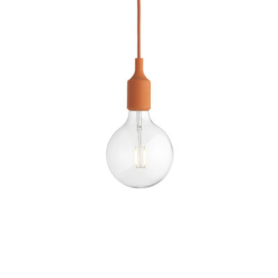 E27 Pendant Lamp, Orange