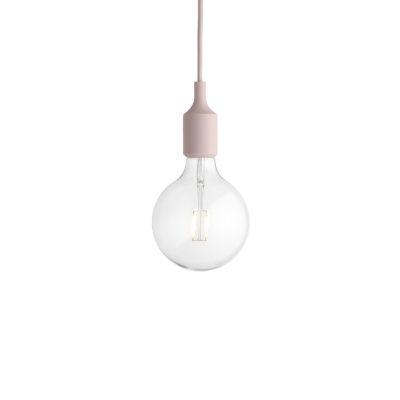 E27 Pendant Lamp, Rose
